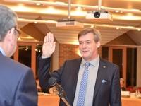 Dirk Gerinckx, voorzitter gemeenteraad