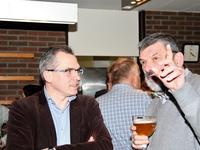 Matthias Diependaele (fractieleider Vlaams Parlement) en Harry Hendrickx (burgemeester Malle)