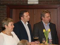 schepenen Mieke Vermeyen, Wouter Patho en Paul Van Ham